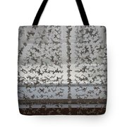 Hanging Butterflies B W  Tote Bag