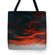 Hanging Clouds Tote Bag