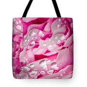 Hanging Droplets Tote Bag