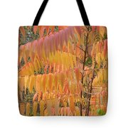 Hanging Fire Tote Bag