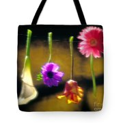 Hanging Flowers Tote Bag