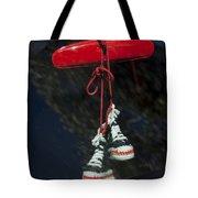 Hanging Hightops Tote Bag