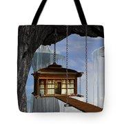 Hanging House Tote Bag