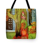 Hanging In The Park Tote Bag