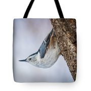 Hanging Nuthatch Tote Bag