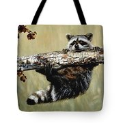 Hanging On Tote Bag by Janet Moss