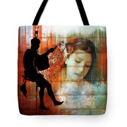 Hanging On To The Dream Tote Bag