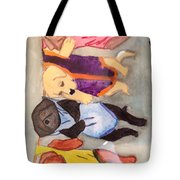 Hanging Out To Dry Tote Bag