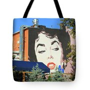 Hanging Out With Elizabeth Taylor Tote Bag