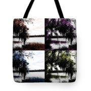 Hanging Over The Marsh Tote Bag