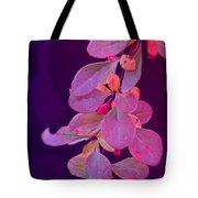 Hanging Purple Tote Bag