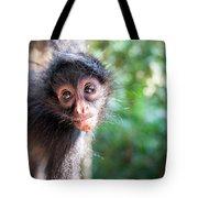 Hanging Spider Monkey Tote Bag