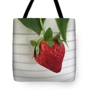 Hanging Strawberry Tote Bag