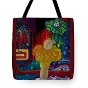 Hanging Up The Clown Tote Bag