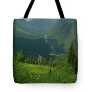 Hanging Valley Tote Bag