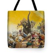 Hannibal And Scipio Tote Bag