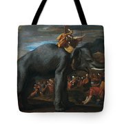 Hannibal Crossing The Alps On Elephants By Nicolas Poussin, 1625-1626. Tote Bag