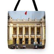Hanoi Opera House 01 Tote Bag