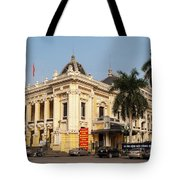 Hanoi Opera House 02 Tote Bag
