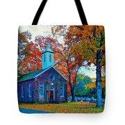 Hanover Church - Fall Tote Bag