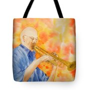 Hanson On Trumpet Tote Bag