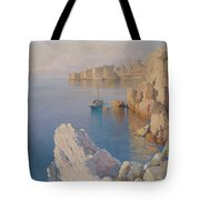 Hanzen, Alexei 1876-1937 A Cove In Dubrovnik Tote Bag