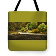 Lewis River Lagoon Tote Bag