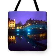 Hapenny Bridge, Dublin, Ireland Tote Bag