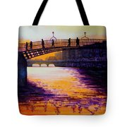 Ha'penny Bridge Dublin Tote Bag