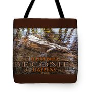Happenings Abstract Motivational Artwork By Omashte Tote Bag