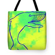 Happier Humpback 1 Tote Bag