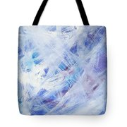 Happy Abstract Tote Bag