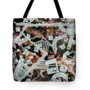 Shifting Layers Tote Bag