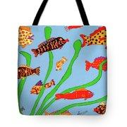 Happy Aquarium Tote Bag