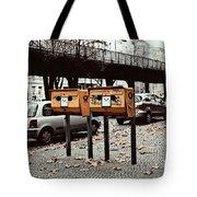 Happy Berlin Mailbox Tote Bag