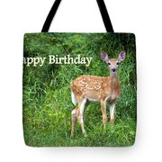 Happy Birthday 1 Tote Bag