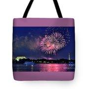 Happy Birthday America # 2 Tote Bag
