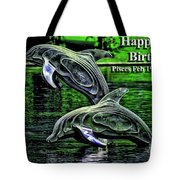 Happy Birthday Pisces Tote Bag by Beauty For God