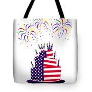 Happy Birthday Usa Tote Bag