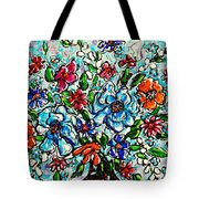 Happy Bouquet Tote Bag