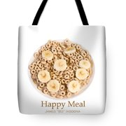 Happy Breakfast Fine Art Poster Tote Bag