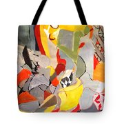 Happy Chair Tote Bag