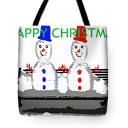 Happy Christmas 116 Tote Bag