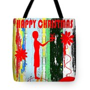 Happy Christmas 14 Tote Bag