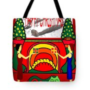 Happy Christmas 32 Tote Bag