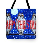 Happy Christmas 94 Tote Bag by Patrick J Murphy