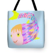Happy Clown Fish  Tote Bag