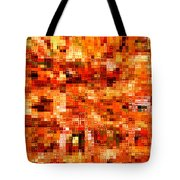 Happy Colors Abstract Tote Bag by Carol Groenen