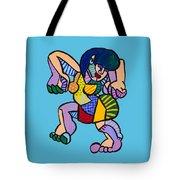 Happy Dancer Tote Bag
