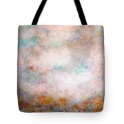 Happy Dancing Clouds Tote Bag